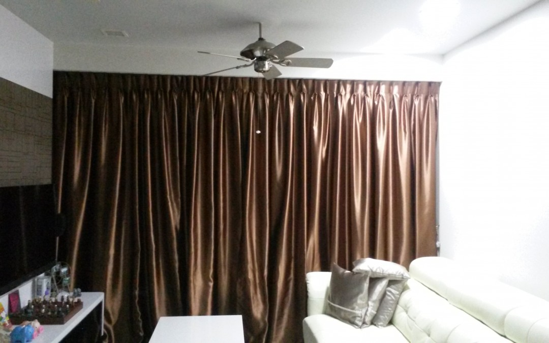Curtain types you find in Singapore