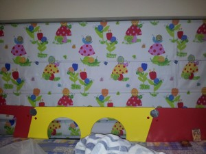 Children design roman blind Singapore | Blinds in Singapore Mtm Curtains