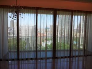 Martin Place - Sheer Curtains Singapore MTM Curtains |Roller Blinds| Curtains 1