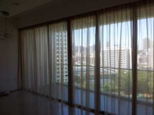 Martin Place - Sheer Curtains (2)|Roller  Blinds| MTM Curtains SIngapore