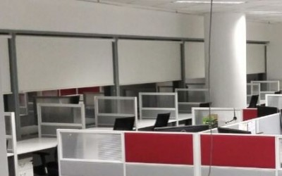 Singapore Offices – Blinds or Curtains?