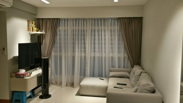Sengkang East Ave – Day & Night Curtains