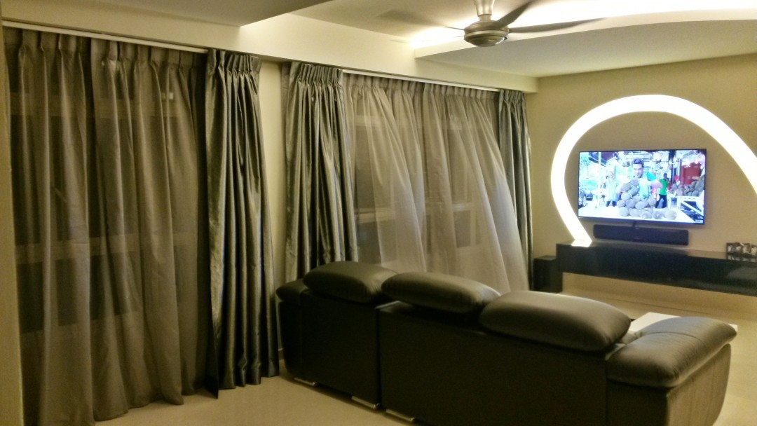 Yishun Green Walk Projects Curtains And Blinds Mtm