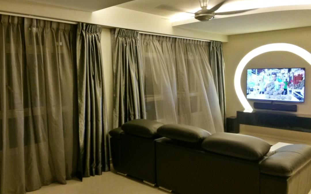 Yishun Green Walk – Curtains and Blinds