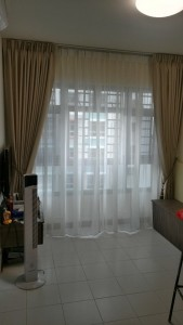 Yishun Riverwalk - Day and Night Curtains (2)