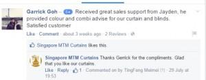 singapore mtm curtains facebook testimonial 1