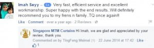 singapore mtm curtains facebook testimonial 3