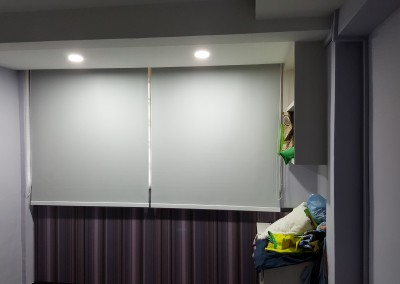 Bendemeer Jumbo HDB Flat – Blackout Roller Blinds