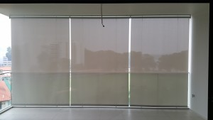Outdoor roller blinds @ Waterfront Isle Condo (1)