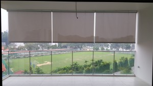 Outdoor roller blinds @ Waterfront Isle Condo (2)
