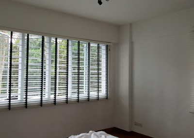 Botanic Garden View – Timber Blinds