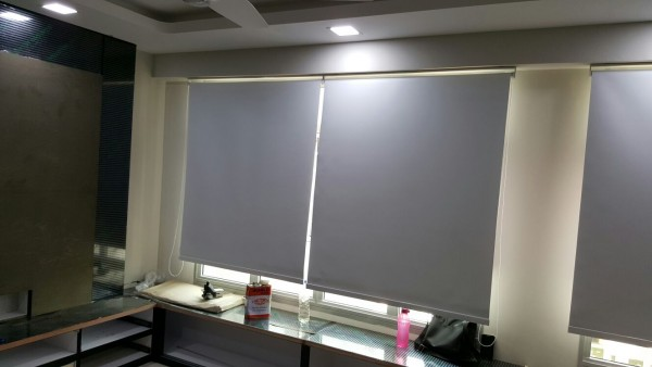 Severaal Roller Blinds in office
