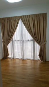 Bedrooms with Day & Night Curtains (2)
