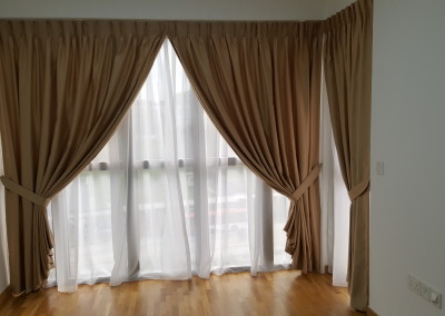 Bartley Residence – Curtain & Blackout Film (4th unit)