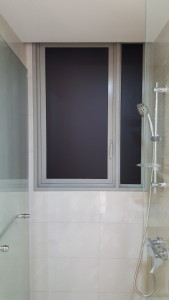Black Frosted Film for the washrooms (1)