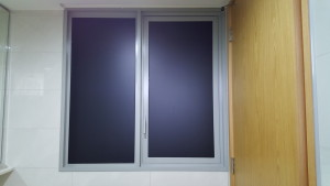 Black Frosted Film for the washrooms (2)