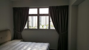 Rivervale Delta - Day & Night Curtains in Grey neutral colours (3)