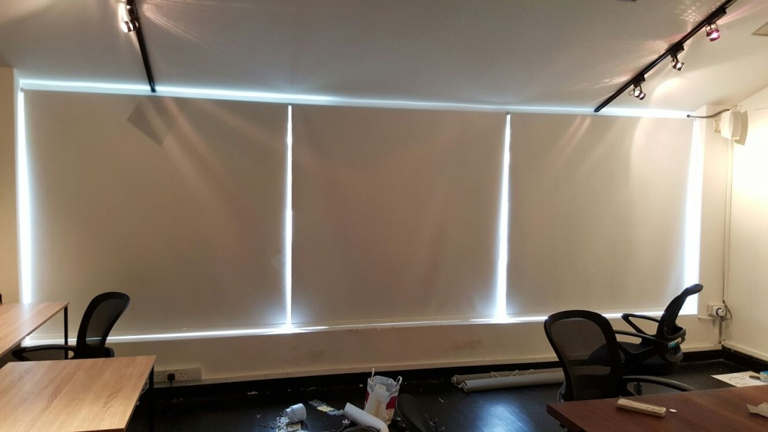 Aleph Laps – Roller Blinds for Meeting Room
