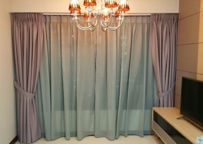 Punggol, Edgedale Plains – Day & Night Curtains