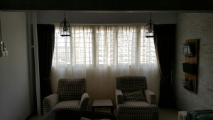 Day & Night Curtains with Roller Blinds installed at Canberra Road (1)