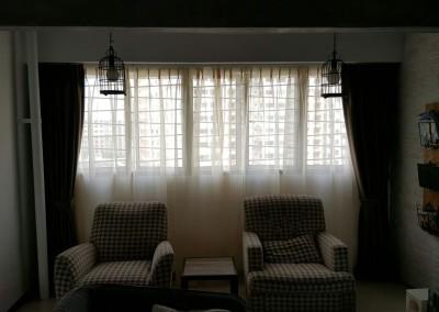 Canberra Jumbo HDB Flat – Curtains & Blinds
