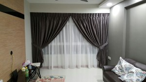 Punggol Matilda Portico -  Designed Curtains & Blinds Installed (2)