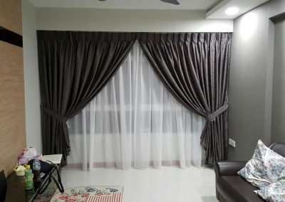 Punggol, Matilda Portico – Designed curtains & blinds