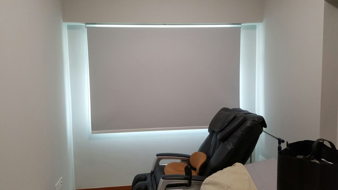Punggol, Matilda Portico – Furnished Roller Blinds