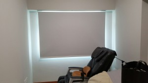 job at Punggol Matilda Portico –  Pvc roller blinds
