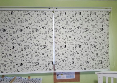 Marine Terrace Breeze – Animal Farm Roller Blinds