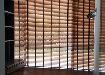 Pavis – Design Blackout Curtains with Timber Blinds