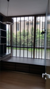 Pavis Holland Hill Condo - Timber Blind in Study Room (Closed)