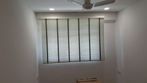 Rivervale Delta - Timber blinds in Common Room (1)