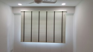 Rivervale Delta - Timber blinds in Common Room (2)