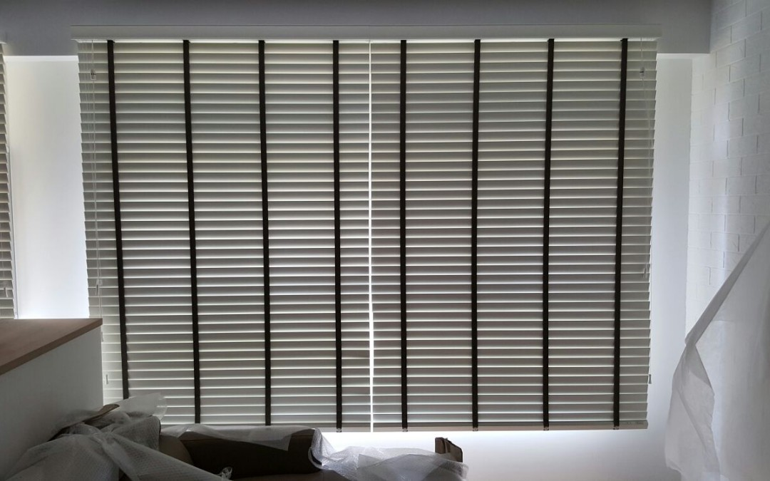 Rivervale Delta – Easylift Timber Venetian Dual Shade Blinds