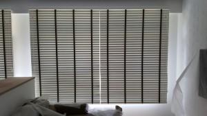 Rivervale Delta - Timber blinds in Living Room (1)