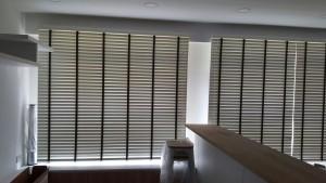 Rivervale Delta - Timber blinds in Living Room (3)