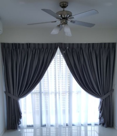 Q-Bay Tampines – Curtains and Roller Blinds
