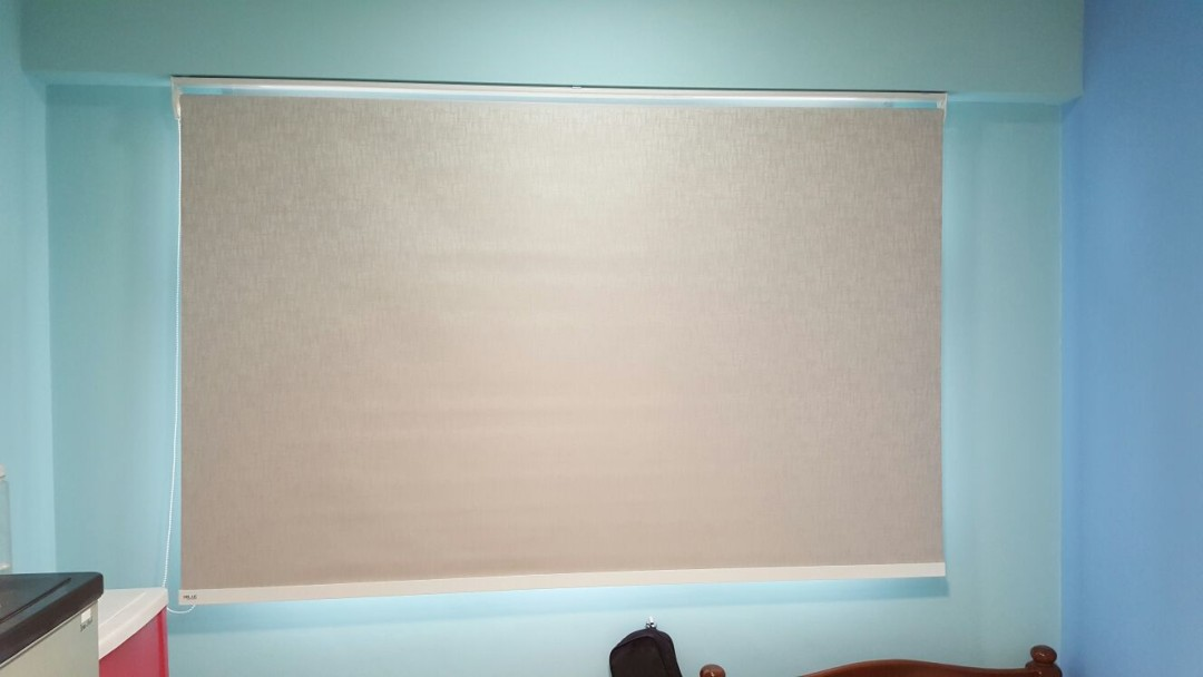 Tampines Greenforest – Designed Roller Blinds
