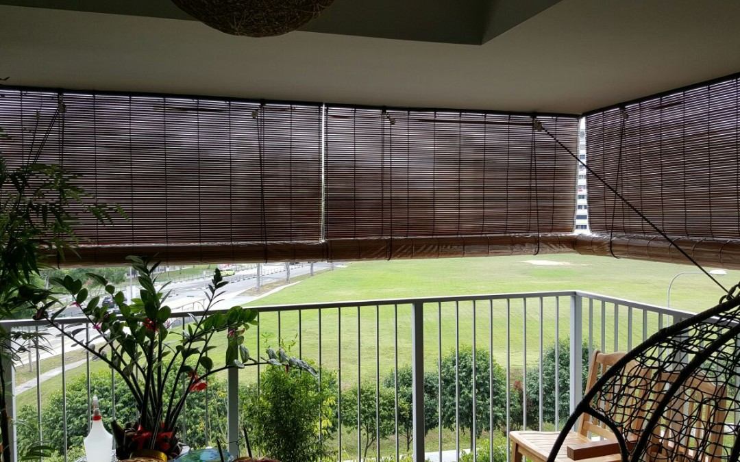 Bamboo Blinds Cleaning in Singapore