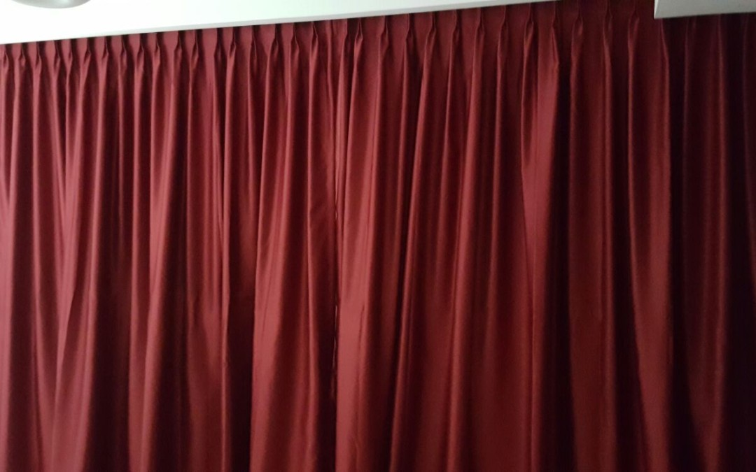 ICON Condo – Installed Curtain Divider