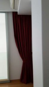 ICON Condo - Installed Curtains Divider (1)