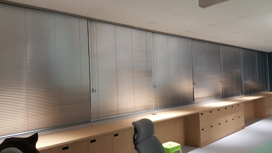China Sq Central – Aluminium Venetian Blinds