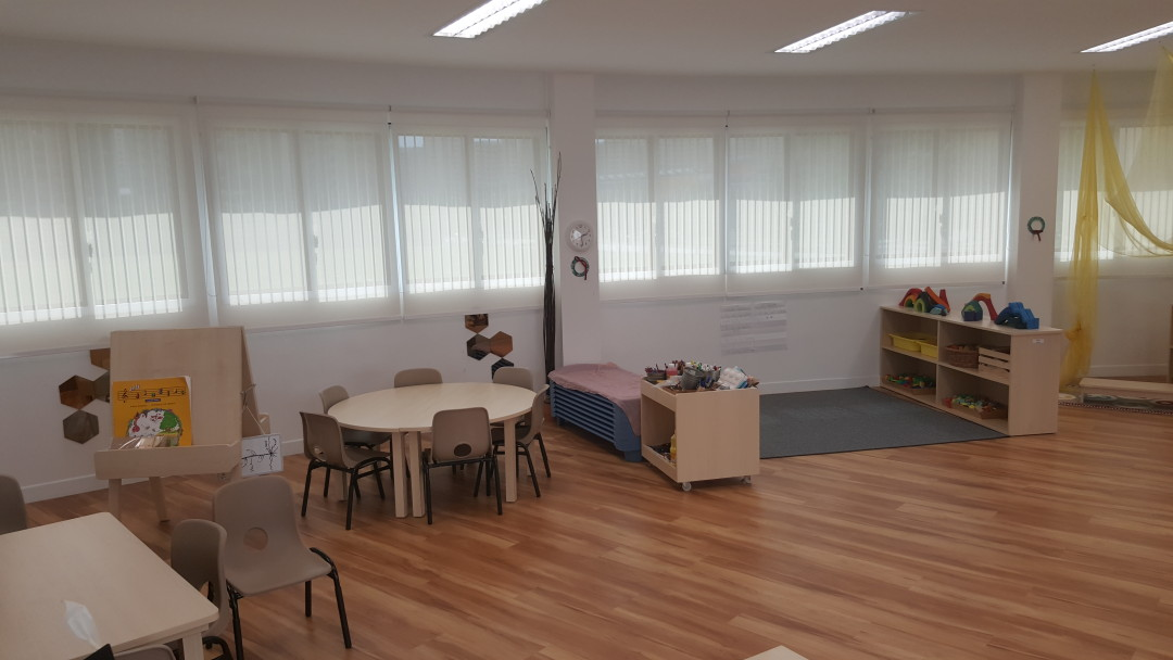 E-Bridge Preschool – Perforated Roller Blinds