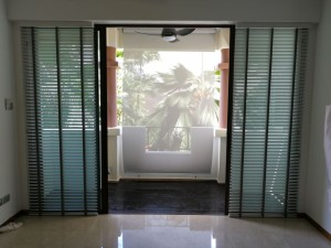 Amaninda condo at Thomson - Timber Blinds and outdoor blinds (2)