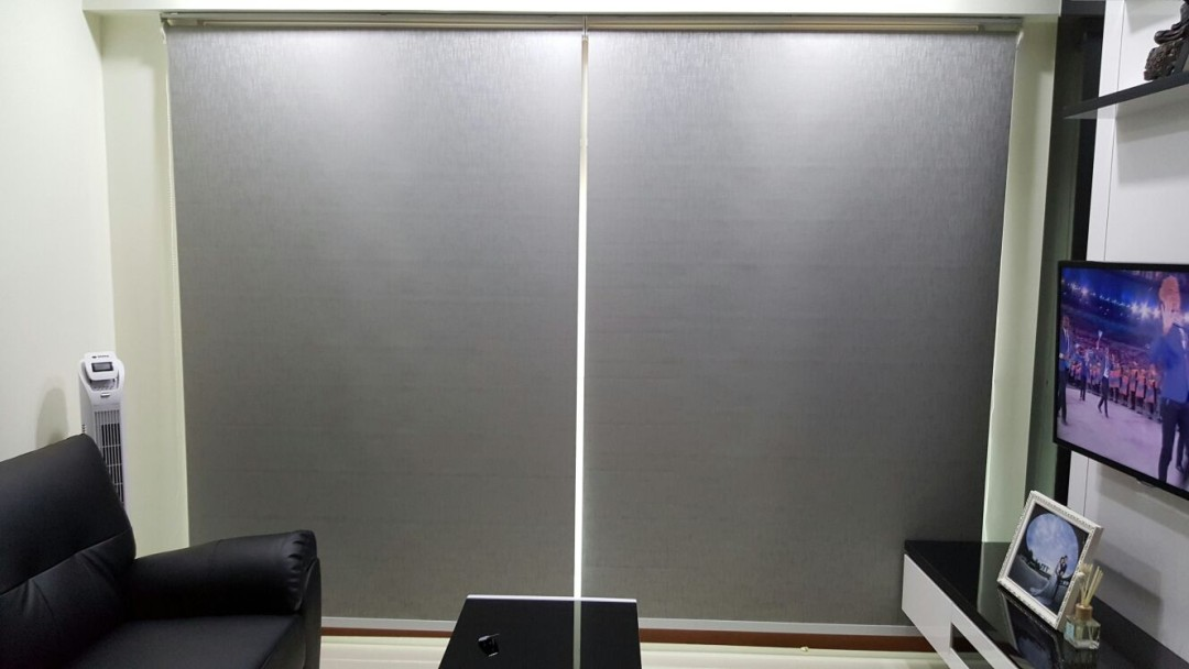 Compassvale Mast – blackout design roller blinds