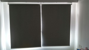 Orchid Spring @ Yishun - fabric blackout roller blinds (1)