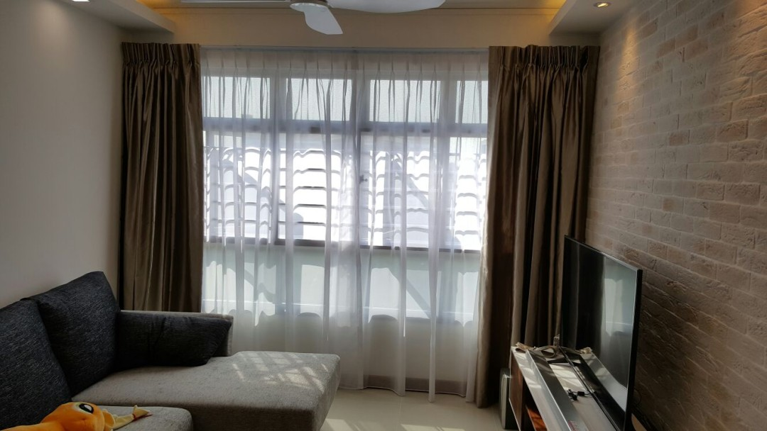 Tampines Greenforest – window furnishing