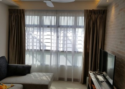 Tampines Greenforest – window furnishing