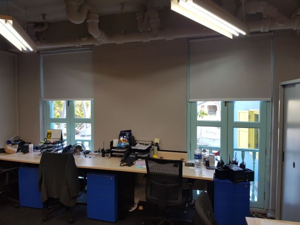 Office Roller Blinds : Zouk office vertical and roller blinds mtm curtains